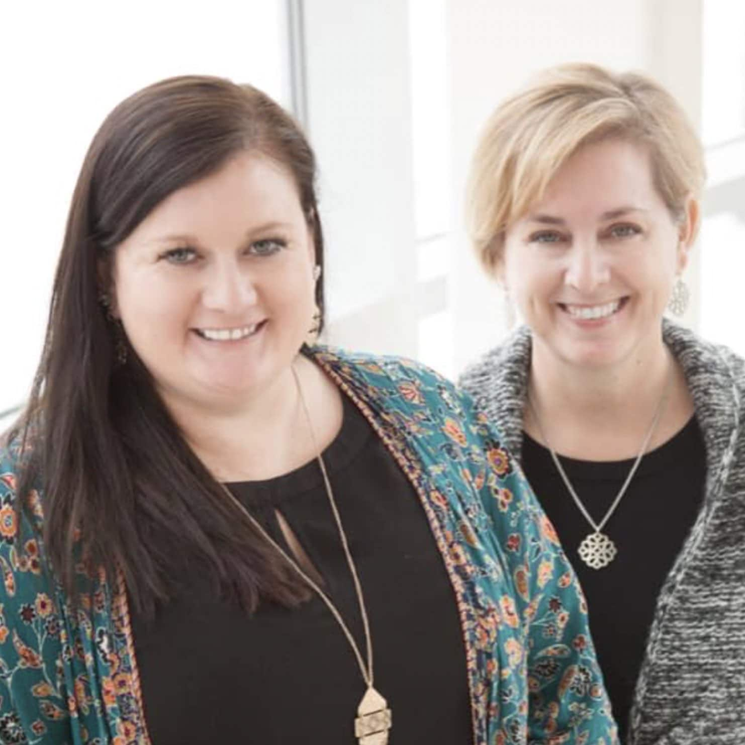 Dr. Jill Tussey and Dr. Leslie Haas International Literacy Day
