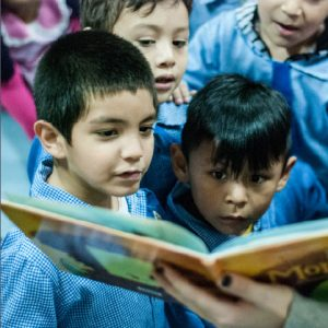 Fundacion Leer is shortlisted for the World Literacy Awards